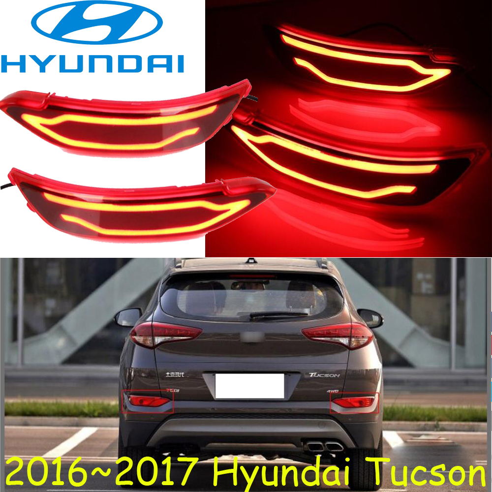 chrome,Tucson breaking light,2016 2017 year,Free ship!LED,Tucson rear light,LED,2pcs,Tucson taillight<br>