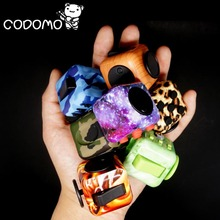10 Patterns 2017 NEW Fidget Cube 2 Anxiety Stress Relief Focus Toys Gift Star Purple Jade Green Leopard Fire Phenix Magic Cubes(China)