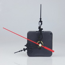 Quartz Movement 3 Pointers Clockwork Wall Clock Mechanism Repair DIY Tool Kit + Red Hand Clocks Accessories