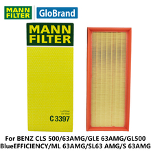 MANNFILTER Air Filter C3397 for BENZ CLS 500/63AMG/GLE 63AMG/GL500 BlueEFFICIENCY/G 63AMG/ML 63AMG/SL63 AMG/S 63AMG auto parts