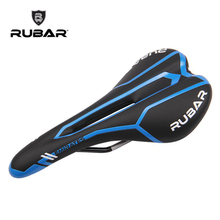 RUBAR MEIRATES PLUS 3255 MTB Road Bike Light Saddle Seat CR-MO Rail Hollow Design Mountain Bike Bicycle Saddle, Cycling Parts(China)