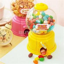 Mini Candy Machine Dispenser Coin Saving Bank Money Storage Box Christmas New Year Gift for Kids 14.5*8.5cm(China)