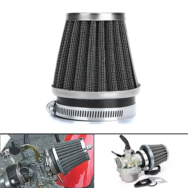 """GREEN  2.5/"""" 63mm Cold Air Intake Cone Filter Replace For BMW 3-Series 5-Series"""