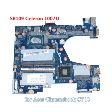 Q1VZC LA-8943P NBSH711002 NB.SH711.002 For acer Chromebook C710 laptop motherboard SR109 Celeron 1007U DDR3