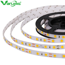 SMD 5054 Led Strip Light Highlight Led Tape 60Leds/m DC 12V Much Brighter Than 5050 5630 3528 Flexible Light Ribbon Stripe Tape(China)