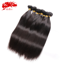 Ali queen hair indian virgin hair straight human hair extension 10pcs lot, natural black wholesale virgin indian silky straight