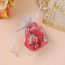 100PCS/LOT Multicolor Organza Jewelry Bag Gift Draw String 9*12CM Storage Bags Packaging Bag
