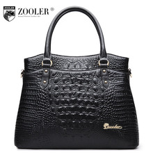 leather bag type women famous brand 2017 alligator patterned  ladies bag Genuine leather shoulder bag  Retail tote bag#CJ-6109