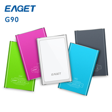 EAGET G90 500GB 1TB HDD USB 3.0 Hard Drives High speed External portable storage Desktop Laptop mobile hard disk 100% origianl