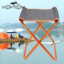Portable Folding Fishing Chair Seat Outdoor Lightweight Foldable Chair Camping Fishing Stool for Picnic Beach Chair(China)