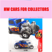 2017 Hot Wheels 1:64 blue 32 ford Metal Diecast Cars Collection Kids Toys Vehicle For Children Juguetes