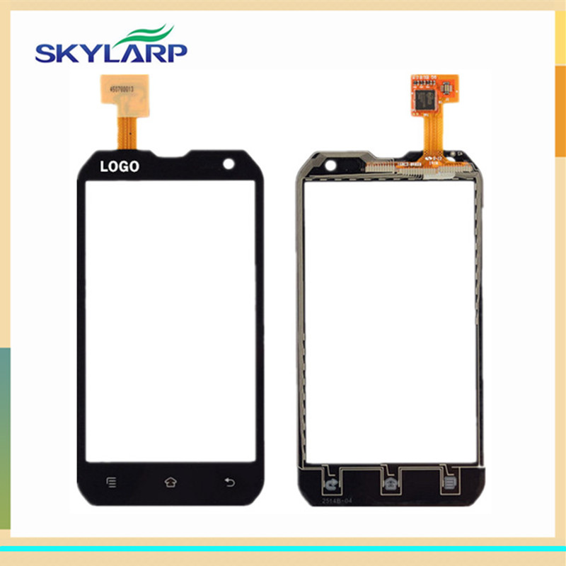 3.5 INCH Touch Screen digitizer For Caterpillar CAT B15 B15Q black new Free shipping<br><br>Aliexpress