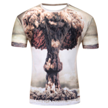3D T Shirt Compression Shirt Mens originality Big Bang Bodybuilding Tights Short Sleeve Fitness Crossfit Brand Clothing