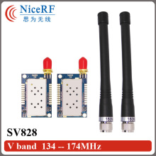 2sets 1W audio rf transmitter and receiver module 134-174MHz SA828 VHF band