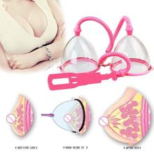 Breast Enlargement Pump Breast Massager Enhancer Large Size Electric Breast Enlarge Pump With Twin Cups A5