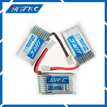 Original 3pcs 3.7 V  150 mah 30C Lipo Battery For RC JJRC H36 Airplane Helicopter Drone Quadcopter battery Free shipping