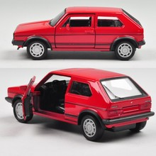 Welly 1:36 Volkswagen golf simulation alloy car toy model counters authentic