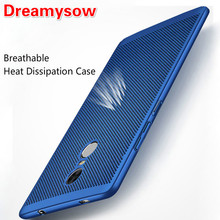 Heat Dissipation Phone Case Redmi 6Pro 6A 6 S2 Xiaomi 8 5X Mi A1 Mi NOTE3 Mi5 Cooling PC Cover Full Protection Phone Shell