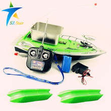 Newest upgrade version RC Wireless Remote Control Fishing Bait Boat rc fish boat lure boat large bait storage  Electronic Lure T