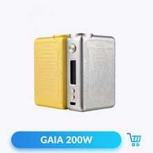 Authentic Smoant GAIA 200W TC VW Box Mod 510 Thread Powered by Dual 18650 Battery for Vape Electronic Cigarette without Battery(China)