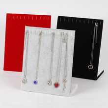 LAN LIN necklace display holder 12 booths display shelf for necklace jewelry display shelf pendant display holder hot selling