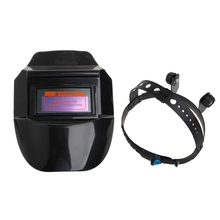 Auto Darkening Welding Helmet Tig Mig Welder Mask Lens Solar Powered Cap