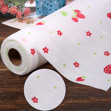 Waterproof Self Adhesive Drawer Papers Pastoral Strawberry Table Drawers Wardrobe Paper Sticker Moisture Wall Paper 30x300cm