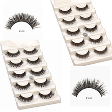 10 pairs false eyelashes mix eyelashes kit natural makeup lashes soft eyelash extension fake eye lashes non magnet