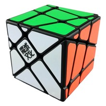 Original Moyu Fisher Cube 3x3x3 Magic Cube Speed Puzzle Cubes Educational Toys For Children Cubo Magico Special Gifts(China)