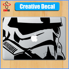 "Star Wars Stormtrooper Vinyl cool design laptop decal sticker for 11"" 13"" 15""  MacBook decal cover skin para  Air Pro Retina"