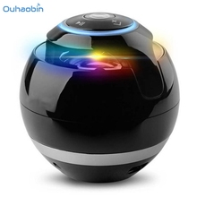 Ouhaobin Popular Multicolor Speaker Portable Super Bass Mini Bluetooth Wireless Speaker High Quality Boombox Speakers Set1(China)