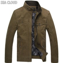 Sea Cloud plus size XL XXL 4XL 5XL 6XL 8xl Large autumn and winter jacket mens commercial jacket stand collar coat brand(China)