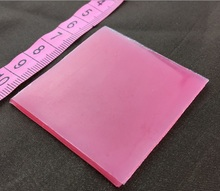 10pcs/ lot 5*5CM Square Pink Diamond Painting Tool Clay Glue Mud Diamond Embroidery Tool Accessories