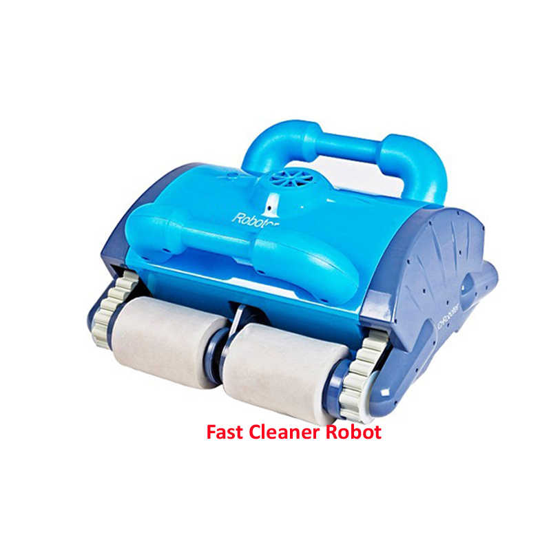 Wall Climbing and Remote Control Intelligent Swimming Pool Cleaner, Robotic  Swimming Pool Cleaner Without Caddy Cart