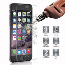 ON SALE GULYNN 0.3 mm 9H Tempered Glass Film For iPhone 7 8 6 6s plus 5 5s 5c se 4 4s Screen Protector 2.5D Round Edge
