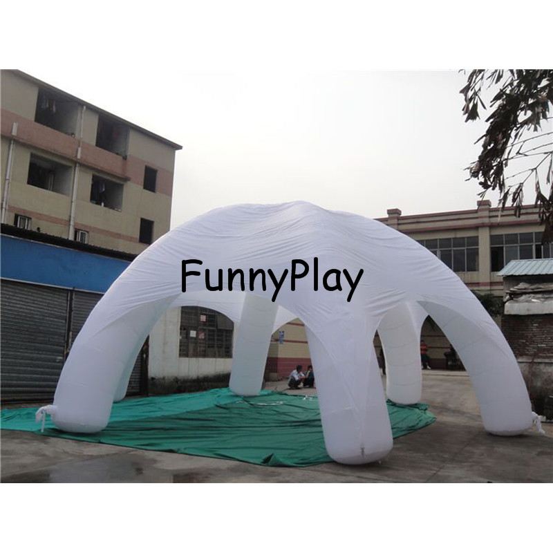 Inflatable Spider tent2