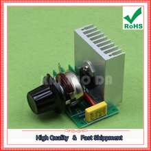 Free Ship 2pcs 3800W Imported Thyristor High Power Electronic Dimmer Regulator Speed Control (C6A1) 0.25kg(China)