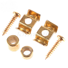 1Set Gold String Tree Guide Retainer Body Custom  For Strat Or Tele Guitar Replacement