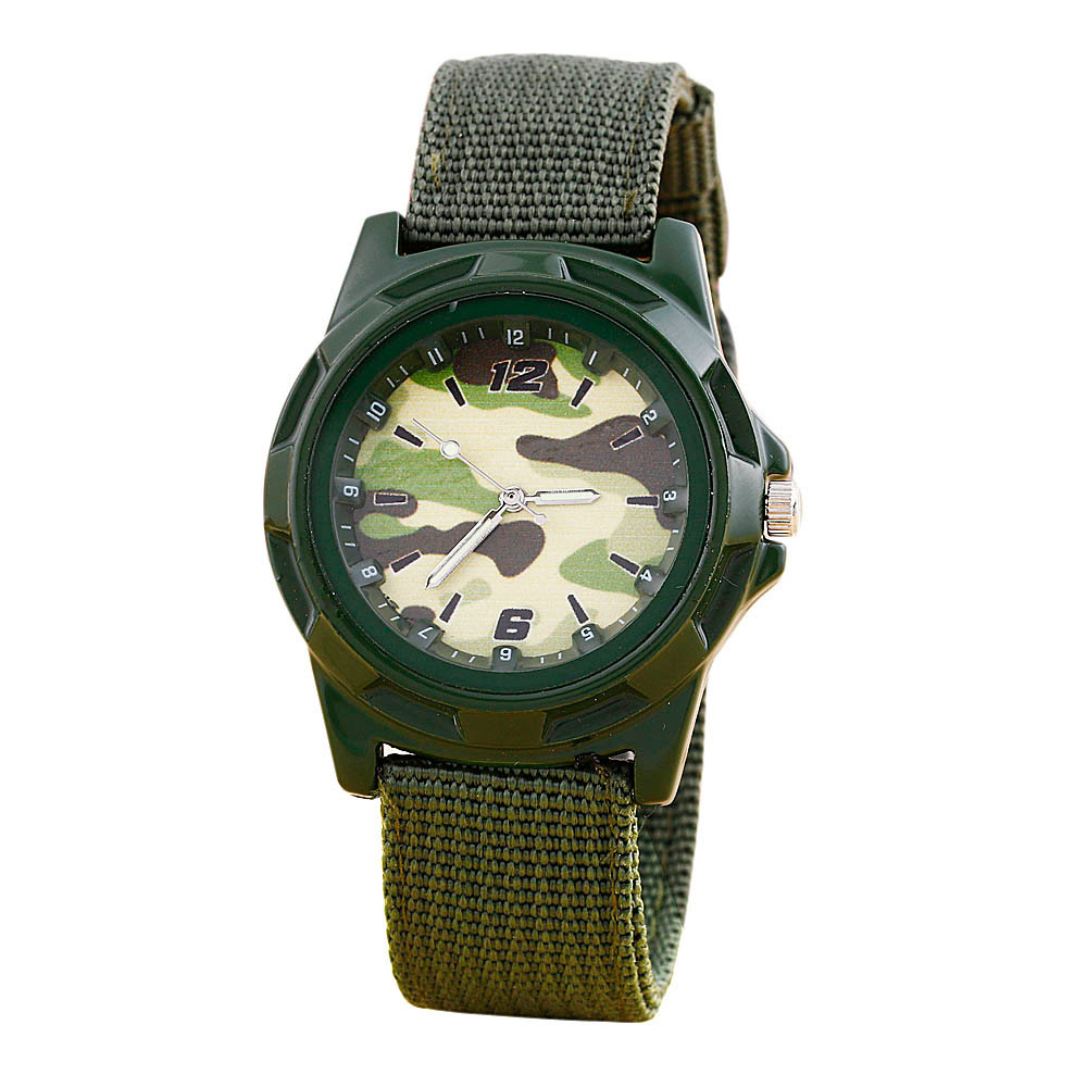 Mance-Z52015 New Resuli Fashion Camouflage Fabric Band Boy Watches<br><br>Aliexpress