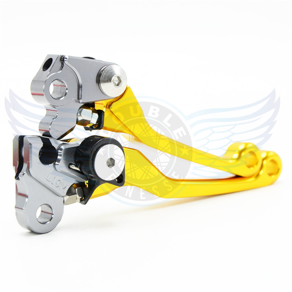 Lever motorcycle Pivot Brake Clutch Levers CNC levers brake clutch For Yamaha SEROW225/250  86 87 88 89 90 91 92 93 94 95 96 97<br>
