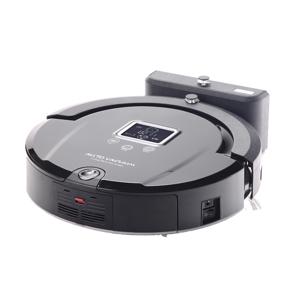 Robot vacuum cleaner,long working time,never touch charge base and sonic wall,low noise,vacuum cleaner for home(China (Mainland))