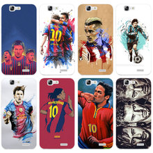 H464 Fashion Football Superstar Transparent Hard Thin Skin Case Cover For Huawei P 6 7 8 9 10 Lite Plus Honor 6 7 8 4C 4X G7