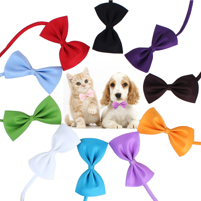 Hot Sale Popular Bow Tie Adjustable Pet 1PC Dog Collar Grooming Accessories Neck Strap Pet Supplies High Quality Pet Product Cat