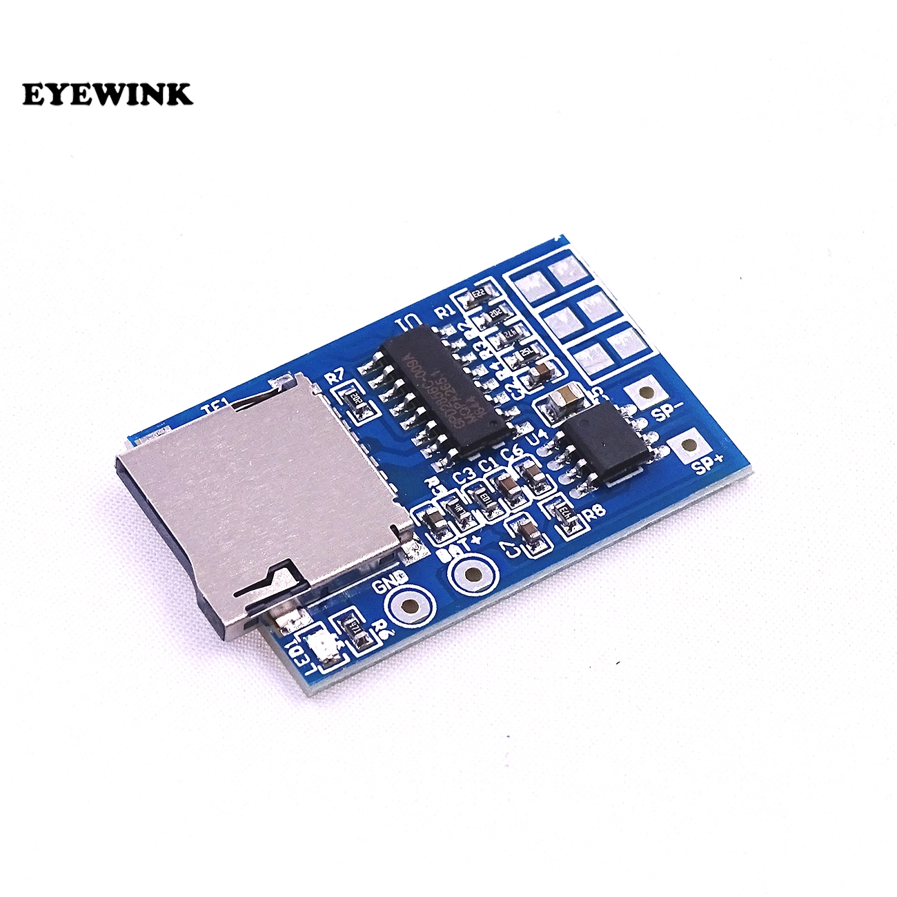 Integrated Circuits Sweet-Tempered Gpd2846a Tf Card Mp3 Decoder Board 2w Amplifier Module Active Components