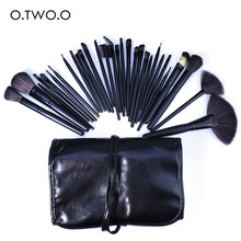 O.TWO.O Brand Cometics Brushes Set Cosmetics Brush Set Beauty Tools Function Eye Face Powder Blush Brush 32pcs In1set with Box(China)