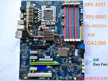 For DELL Studio XPS 435T 9000 Motherboard CN-0X501H X501H X58 LGA1366 Mainboard 100%tested fully work
