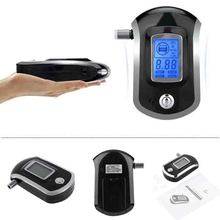Display Digital LCD Alert Breath Alcohol Tester Prefessional Police Alcohol Breathalyzer Analyzer Parking Breathalyser(China)