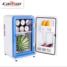 12L 2017 New Car Mini Refrigerator Cooling And Heating Portable Mini Refrigerator Freezer Auto Temperature Refrigerator