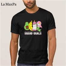 La Maxpa personalized nice men's t shirt squad goals t-shirt man Spring Novelty tee shirt men Clothes hip hop(China)