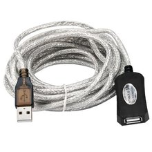 5m USB 2.0 Active Repeater Cable Extension Lead(China)